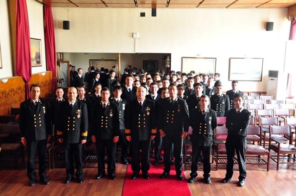 İTÜ DF Sahil Güvenlik Komutanlığı Ziyareti Toplu Fotoğraf