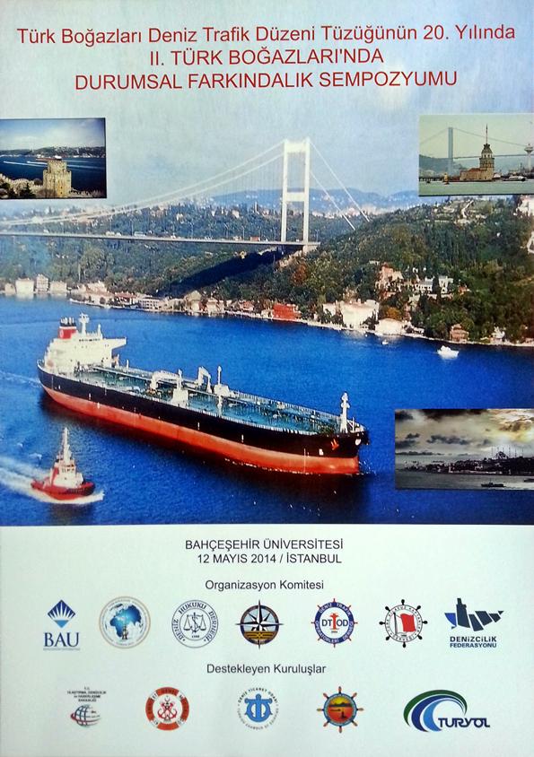 2. Türk Boğazlarında Durumsal Farkındalık Sempozyumu Afiş