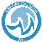e-Marine Education Logo