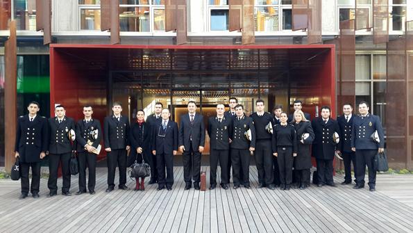 Akmar Shipping Katılımcıları ve Öğrencilerin Kariyer Günü Hatıra Fotoğrafı