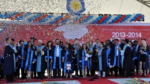 BEÜ Denizcilik Fakültesi Mezuniyet Töreni Toplu Fotoğraf
