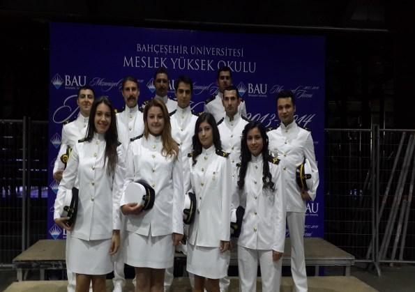 Bahçeşehir Üniversitesi 2013-2014 Mezuniyet