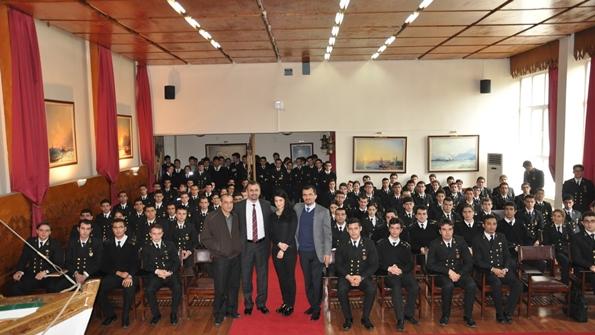 Beşiktaş Denizcilik Temsilcileri İTÜ Öğrencileri ile Birlikte