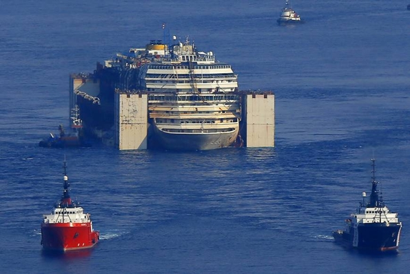 Costa Concordia'nın seferi