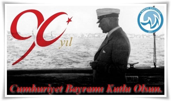 Cumhuriyet Bayramı Kartpostal