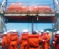 Denizde Güvenlik Eğiticilerinin Eğitimi Simge