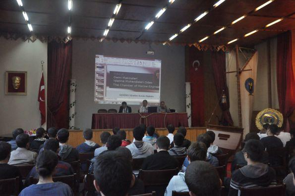 GEMİMO - Denizcilik Fakültesi Öğrencileri ile Buluştu 3