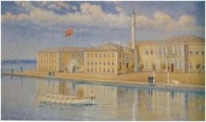 """""""Heybeli Ada Bahriye Mektebi"""" İstanbul Deniz Müzesi"""