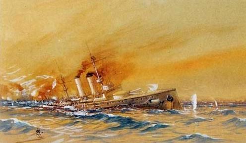 """""""Irresistible Zırhlısının Batışı"""" İstanbul Deniz Müzesi"""