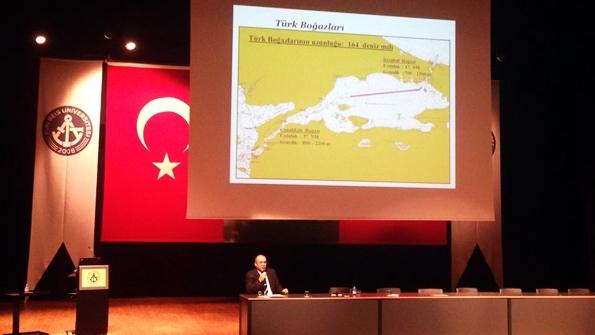 Kıdemli Kılavuz Kaptan Dr. Ali Cömert Piri Reis Üniversitesi'nin Konuğu Oldu