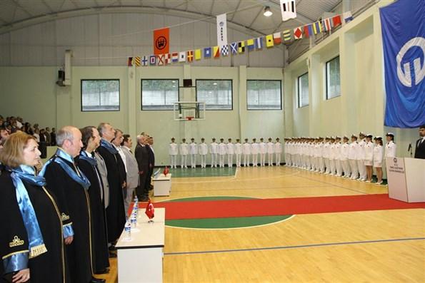 KTÜ DUİM mezuniyet töreni