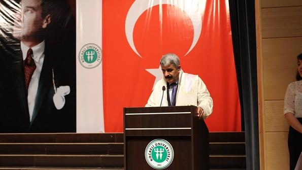 Kocaeli Üniversitesi Rektörü Prof. Dr. Saadettin Hülagü