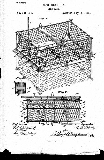 Maria E. Beasley'ye ait Can Salı Patenti