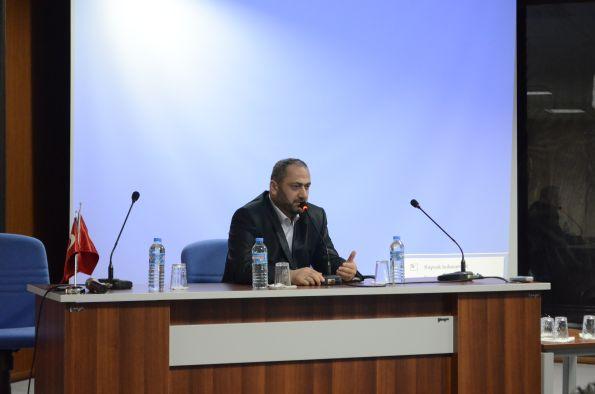 Negmar Denizcilik Sayın Menderes Yaşaryıldız Turgut Kıran Denizcilik Yüksekokulu Kariyer Günlerinin Konuğu Oldu.