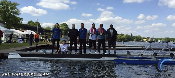 PRU Waterbike Team