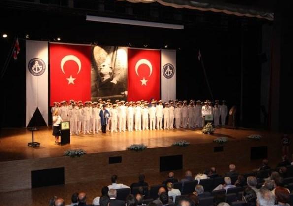 Piri Reis Üniversitesi MEzuniyet Töreni
