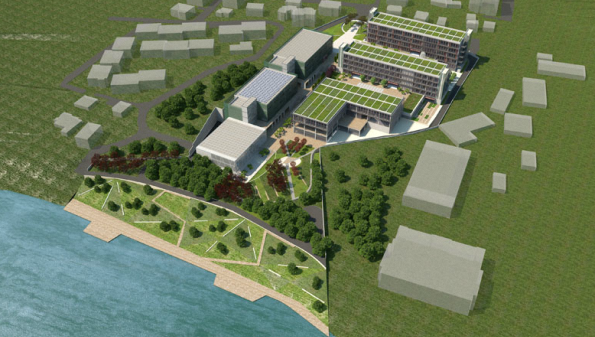 Piri Reis Üniversitesi Yeni Kampüsü
