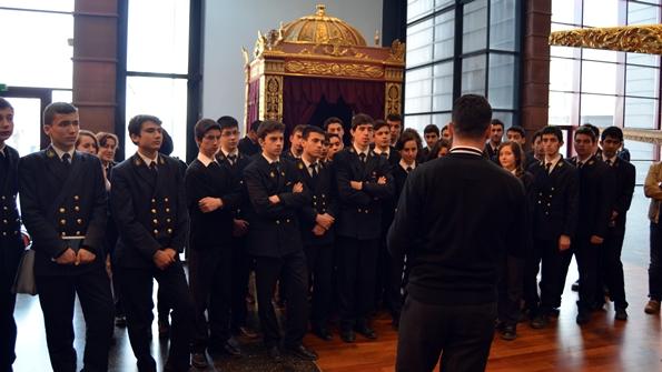 Piri Reis MTAL Öğrencileri İstanbul Deniz Müzesi Ziyaretinde
