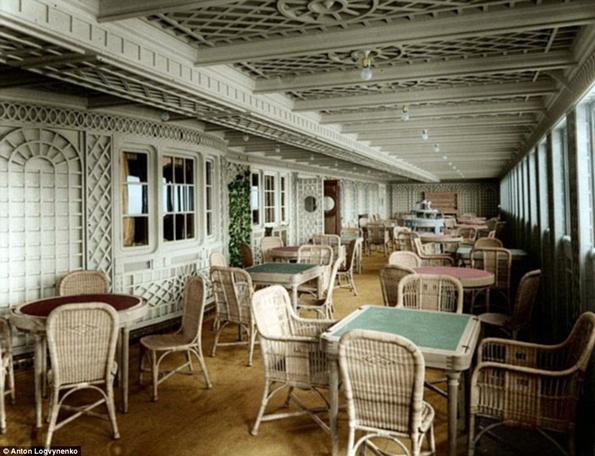 Siyah&Beyaz Titanic 'in Renklendirilmesi 6