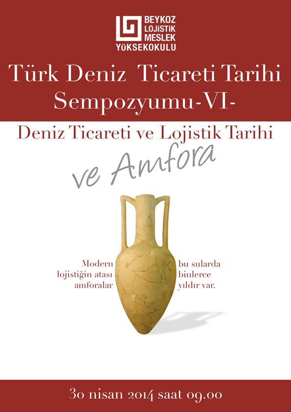 Türk Deniz Ticareti Tarihi Sempozyumu Afişi