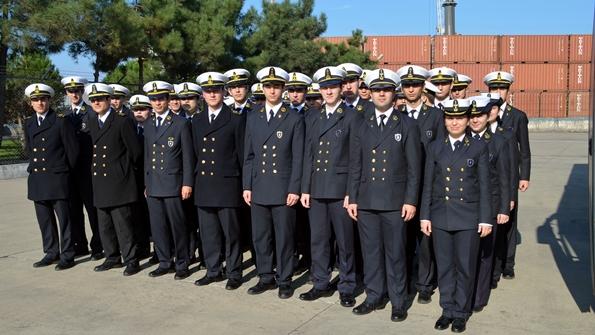 Turgut Kıran Denizcilik Yüksekokulu Öğrencileriden Sahil Güvenlik'e Ziyaret 1
