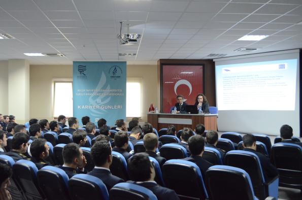 Turgut Kıran Denizcilik Yüksekokulu Kariyer Günleri- Ahmet İhsan Avcı ve Turgut Arıcı