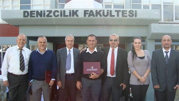 YDÜ'de Amatör Denizci ve Kısa Mesafe Telsiz Operatörü Kursu Toplu Fotoğraf-1