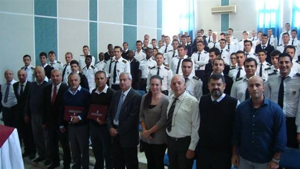 YDÜ'de Amatör Denizci ve Kısa Mesafe Telsiz Operatörü Kursu Toplu Fotoğraf-2