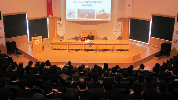 İDÇ Denzcilik İnsan Kaynakları Müdürü Kaptan Turgut Ertürk
