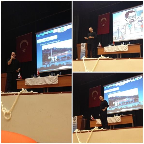 Aybars Oruç'tan İstanbul Üniversitesi'nde Panel