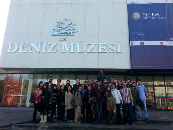 Barbaros Denizcilik Kulübü Müze Gezisi