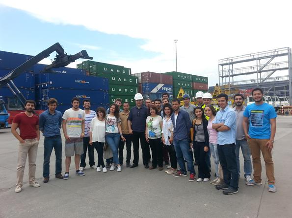 Barbaros Denizcilik Yüksekokulu  Limaş Liman İşletmesi Teknik Gezisi