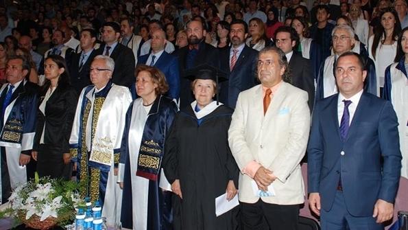 DEÜ Denizcilik Fakültesi 23. Mezuniyet Töreni Protokol