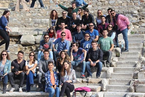 DEÜ Denizcilik Kulübü Efes Antik Kenti'nde