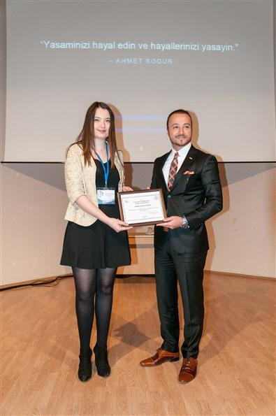 Denizcilik Kulübü Başkanı Ahmet Bodur'a Teşekkür Belgesi Verdi