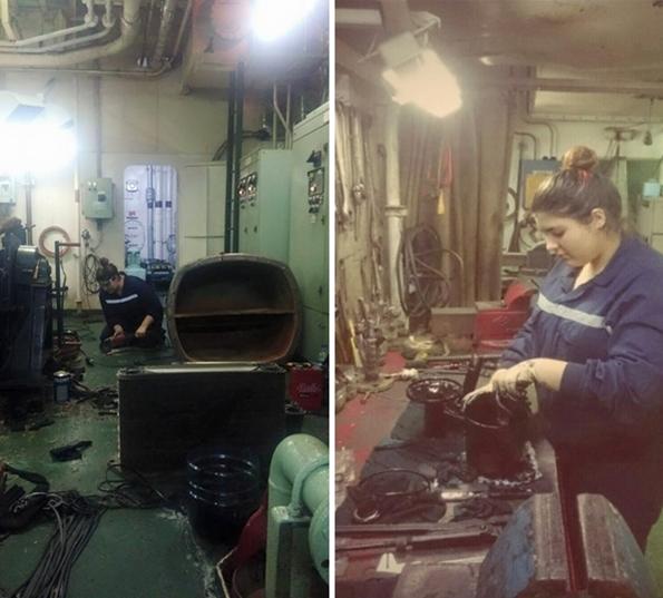 Elif Asena Yayla Makine Dairesinde