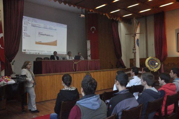GEMİMO - Denizcilik Fakültesi Öğrencileri ile Buluştu 1