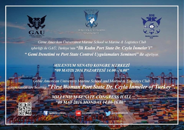 Gemi Denetimi ve Port State Uygulamaları Semineri Afiş