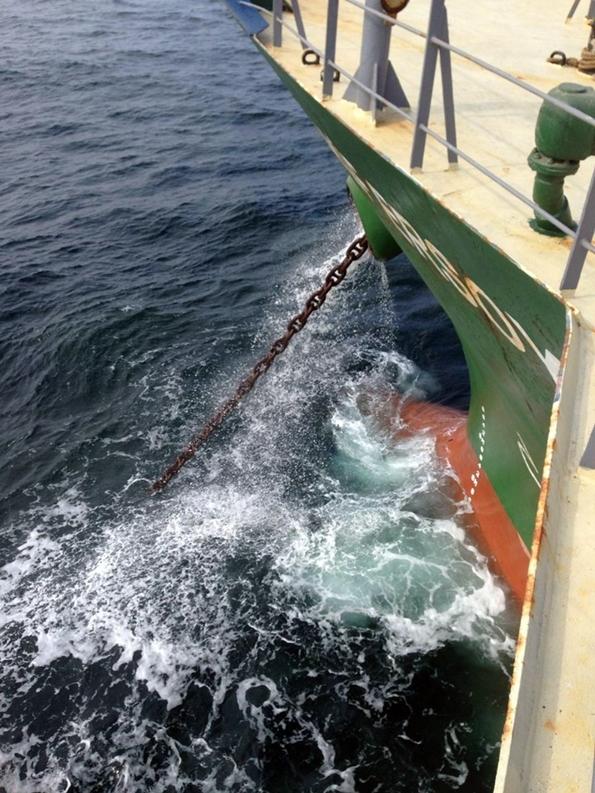 Gemilerde Demir Atma