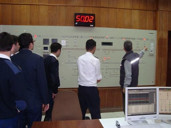 Girne Üniversitesi Teknecik Elektirik Santrali Ziyareti 3