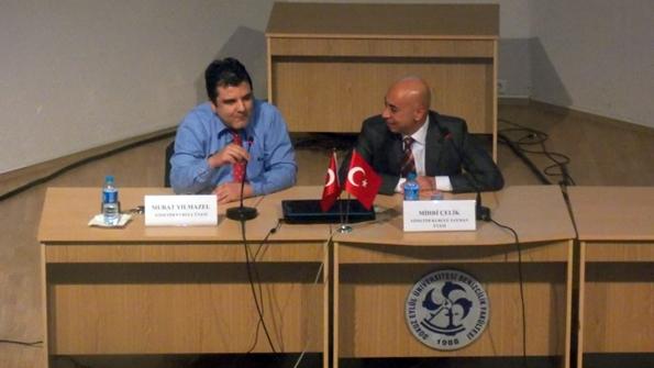 Kaptan Murat Yılmazel ve Kaptan Mihri Çelik