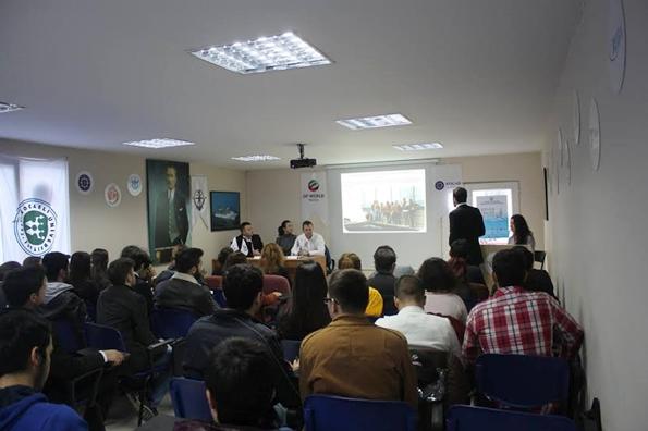 Kocaeli Üniversitesi Pacific Shipping Group'u Ağırladı
