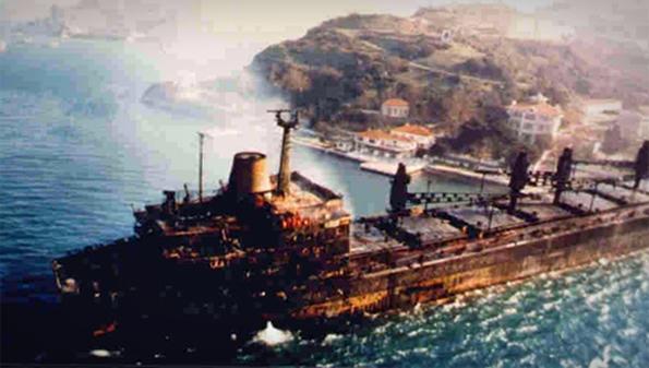 Nassia ve Shipbroker Kazası - 1