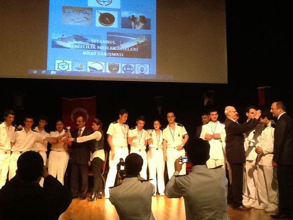 Piri Reis Denizcilik Anadolu Meslek Lisesi, Denizcilik Liseleri Arası Bilgi Yarışması'nda Birinci Oldu 1