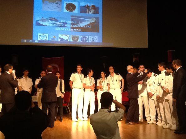 Piri Reis Denizcilik Anadolu Meslek Lisesi, Denizcilik Liseleri Arası Bilgi Yarışması'nda Birinci Oldu 2