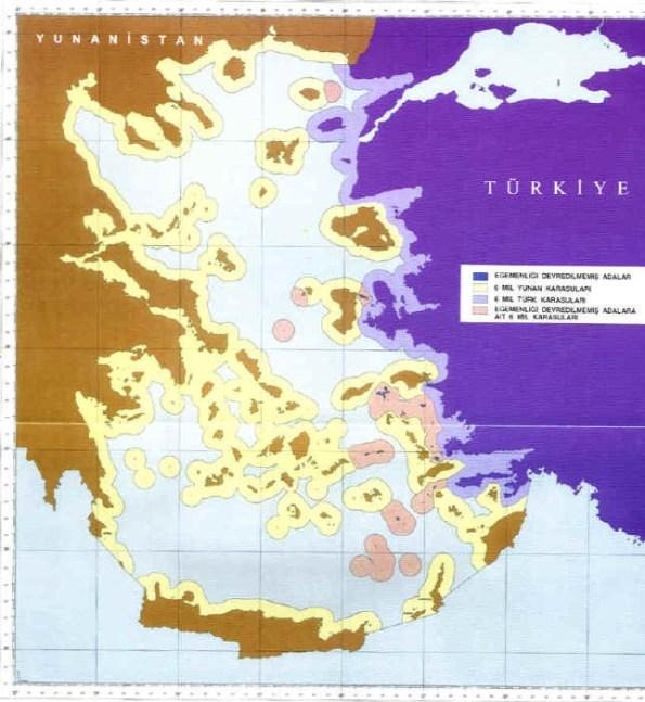 Türkiye ve Yunanistan Arasındaki Karasuları Sorunu
