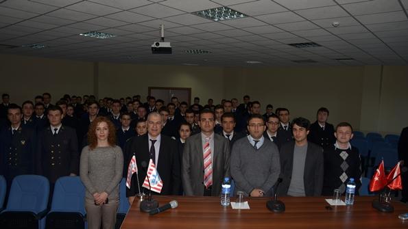 TURKON Denizcilik Turgut Kıran Denizcilik Yüksekokulu Kariyer Günleri Toplu Fotoğraf